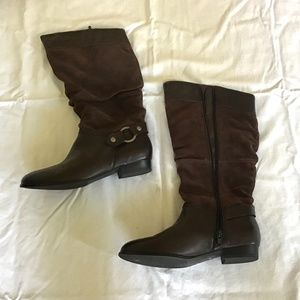 Gino Ventori long flat boots size Au 6